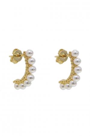 pearlbow-øreringe-guld