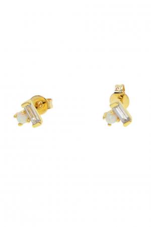 opal-ørestikkere-guld